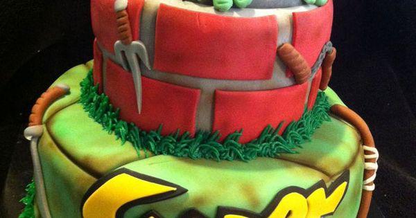 Enjoyable Yummy Teenage Mutant Ninja Turtle Cake Ideas Ninja Turtle Birthday Funny Birthday Cards Online Bapapcheapnameinfo