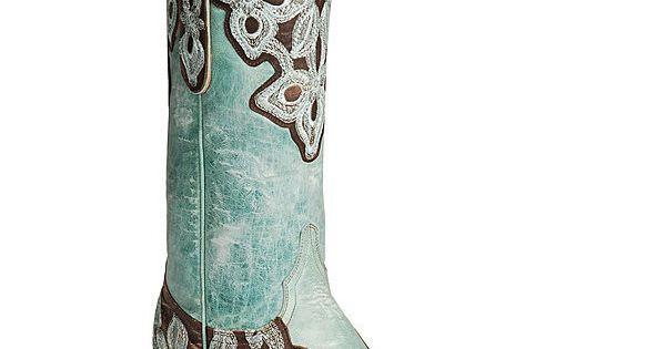 OLD GRINGO MARRIONE L836-1 BRASS TURQUOISE AQUA WOMENS COWBOY BOOTS 8M OldGringo