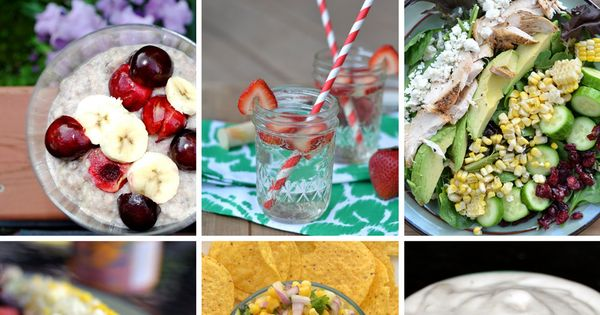 12 Summer Recipes