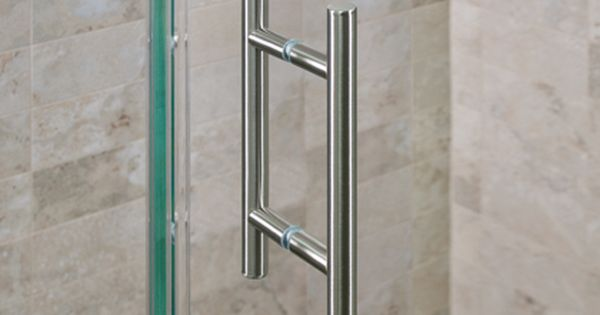 Counterpoint 6 Double Pull Polished Chrome Door Handles