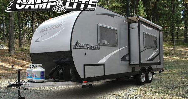 camplite model 21bhs all aluminum automotive travel trailer made by livin lite on my wish. Black Bedroom Furniture Sets. Home Design Ideas