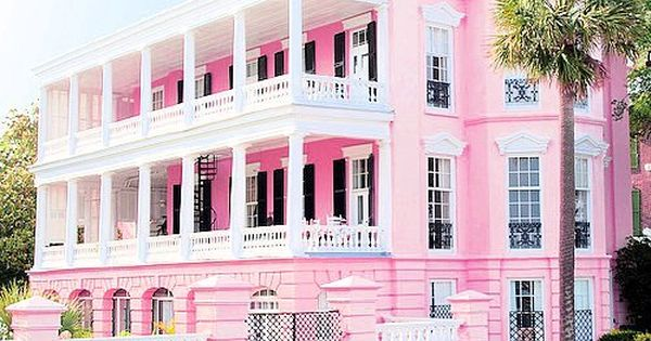 Pink Mansion Yea Not Mad About It As Long As My Closets Are Huge