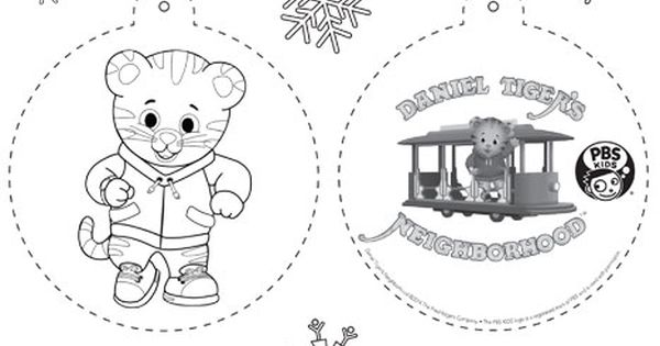 PBS KIDS Holiday Coloring Pages