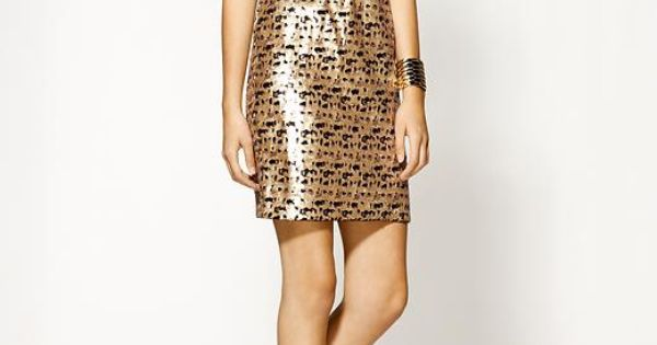 pixel sequin dress by Trina Turk