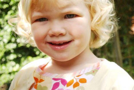Two-year-old 'Matilda'... Drew Barrymore Iq