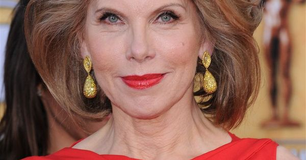 perfect hair for a woman of her age christine baranski