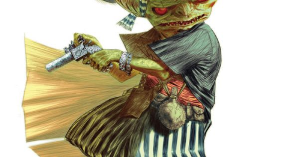 Character Design Brief : Goblin with a gun grunler character design brief