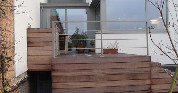 garde corps acier inox fer forg li ge garde corps terrasse bois belgique jardin boulanger. Black Bedroom Furniture Sets. Home Design Ideas