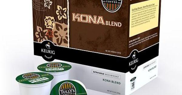 Keurig Tully S Kona Blend Coffee K Cup 18 Count Http