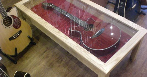 Guitar Display Coffee Table Display Coffee Table Guitar Display Case Guitar Display