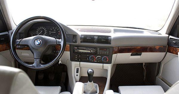 Bmw 540i 6 Speed 128 797 E34 Bmw Interior Bmw E34 Bmw Classic Cars