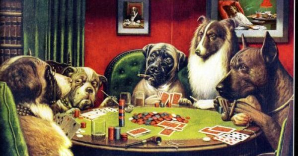 Poker Dogs By C M Coolidge 550 Piece Puzzle Game Searches Dogs Playing Poker Cool Paintings Dogs