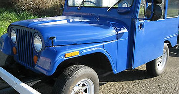 Viewing Auction 171118324351 1970 Kaiser Dj 5a Postal Jeep Rhd