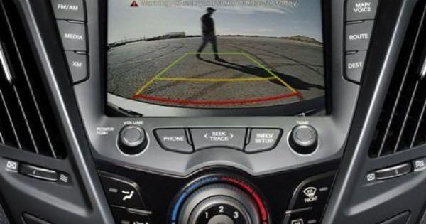 2012 13 Hyundai Veloster Backup Camera Kit Oem Oem Hyundai Accessory Plug And Play Mobis Automotive Parts And Acce Hyundai Veloster Hyundai Backup Camera