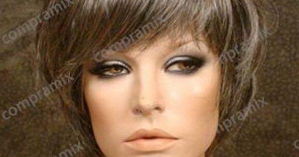 mujer morena con cabello rubio cenizo platinado , Buscar con Google
