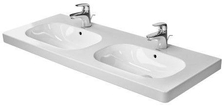 D Code Doppelwaschtisch Duravit Moderne Waschbecken Duravit Und Doppelwaschtisch