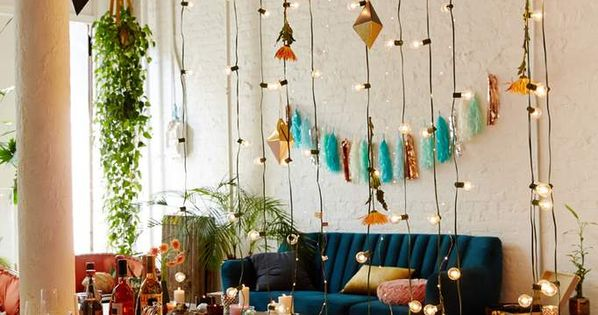Globe Bulb String Lights Urban Outfitters : White Cord Globe String Lights Urban outfitters, Home decor and String lights