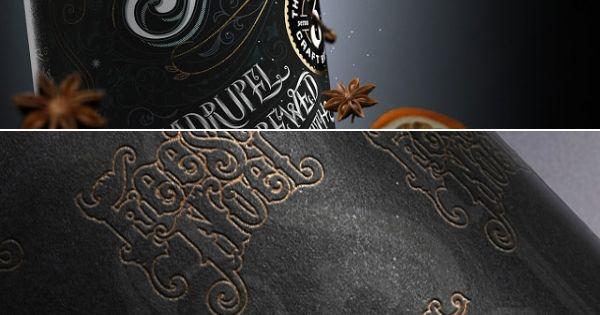Feest Noel ale packaging designed by Anton Burmistrov - www.packagingofth...