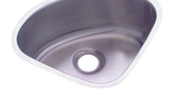 Elkay Mystic 14 X 14 Undermount Kitchen Sink Undermount Kitchen Sinks Sink Single Sink Kitchen