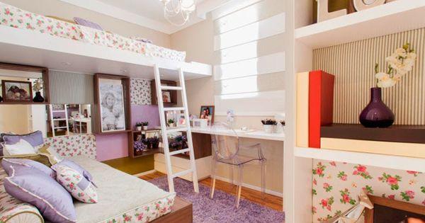 Decorar habitaciones peque as compartidas buscar con - Decorar habitacion pequena ...