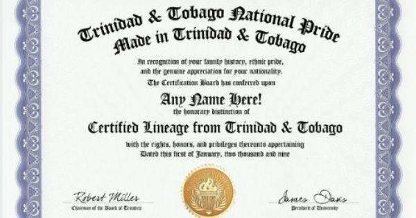 trinidad and tobago trinidadian tobagonian national pride
