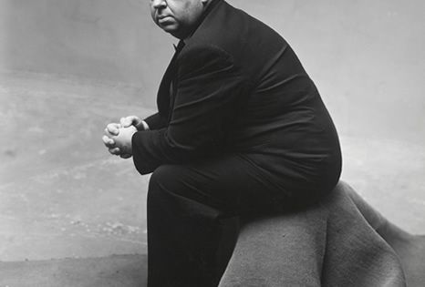 """Irving Penn """"Alfred Hitchcock"""", 1947"""