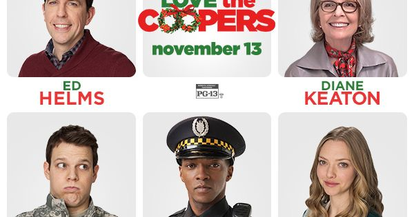 Meet The Cast Of The New Holiday Movie Love The Coopers