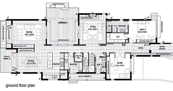Plan 496 15 By Leon Meyer House Plans By Leon Meyer