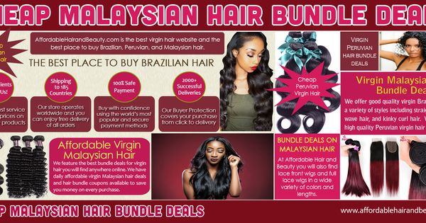 Thumbnail for Virgin Peruvian Hair Bundle deals