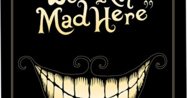 Cheshire Cat sign--I want to put this on the door to my