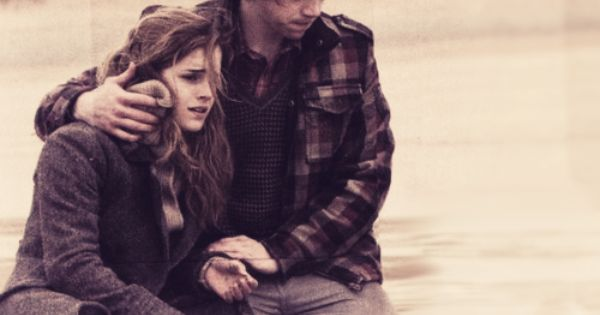 Ron and Hermione: just an ordinary boy in love with an incredibly