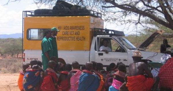 Mobile Clinic Assistance In Rural Kenya With 4x4 Vehicle Or Camels