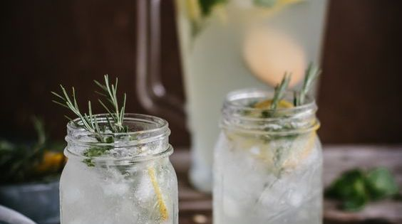 Rosemary lemonade, Lemonade and Vanilla on Pinterest