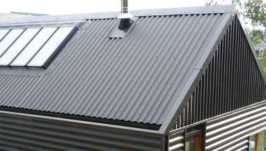Irish Self Build Is B5 Beautiful Corrugated Metal Roof Corrugated Roofing Roof Cladding