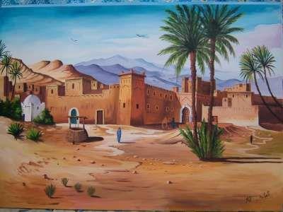 لوحات تشكيلية مغربية منتديات الأستاذ التعليمية التربوية المغربية فريق واحد لتعليم رائد Pictures Acrylic Painting Canvas Desert Life
