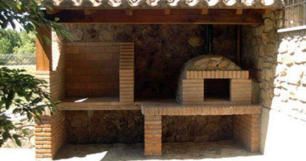 Modelos de barbacoas patios and exterior - Modelos de barbacoas ...