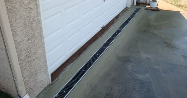 Residential trench drains bing images bdcs pinterest for Residential trench drain