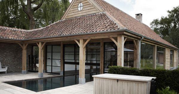 Poolhouse w knokke dennis tjampens pinterest garden fountains