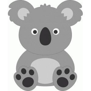 Cute Koala Con Imagenes Trabajos En Goma Eva Manualidades