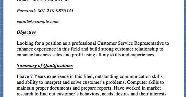 Customer Service Representative Resume Sample Schindler Emory 193 - customer service representative resume examples