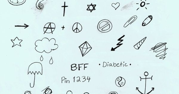 stick n poke easy tattoos tattoo designs outlines pinterest varas tatuagem e furar e picar. Black Bedroom Furniture Sets. Home Design Ideas