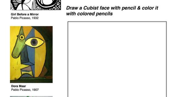 2550 3300 class ideas pinterest cubism worksheets. Black Bedroom Furniture Sets. Home Design Ideas