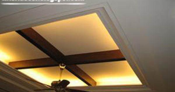 Gypsum ceiling & suspended ceiling design of gypsum with backlight for modern ... memphite.com