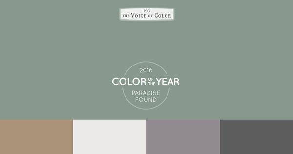 The Ppg Voice Of Color 2016 Paint Color Of The Year