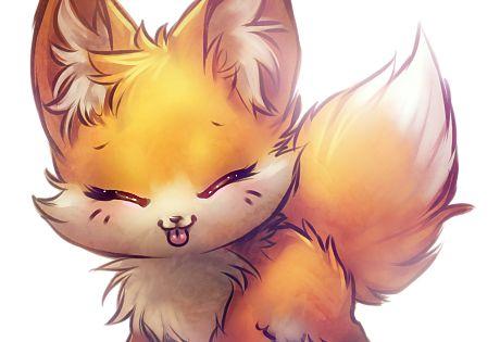 Sho kawaii ♥ ♥ ♥ a chibi fox desuu