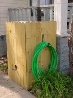 How Can I Hide Or Decorate A Rain Barrel Wassertank Garten Regengarten Regentonne