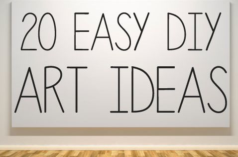 20 ways to make your own wall art