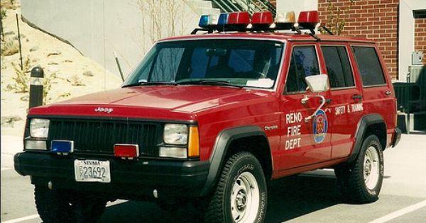 Reno Fire Dept Jeep Cherokee Xj Jeep Cherokee Jeep Cherokee 4x4