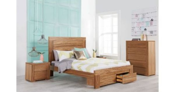 Nova Bed Frame With Underbed Drawers