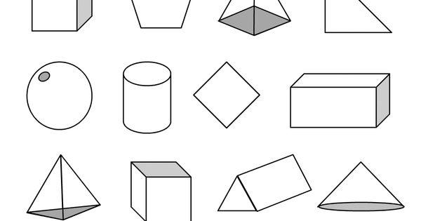 nets of 3d shapes worksheet